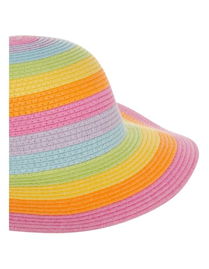 Rainbow Floppy Hat image 3