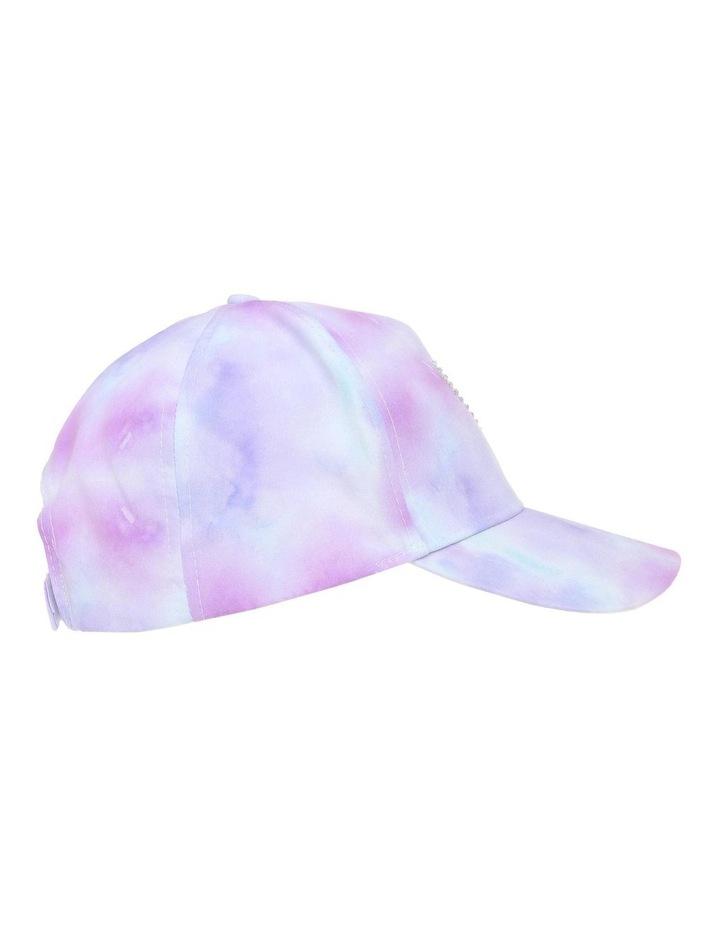 Rainbow Tie-Dye Cap image 2