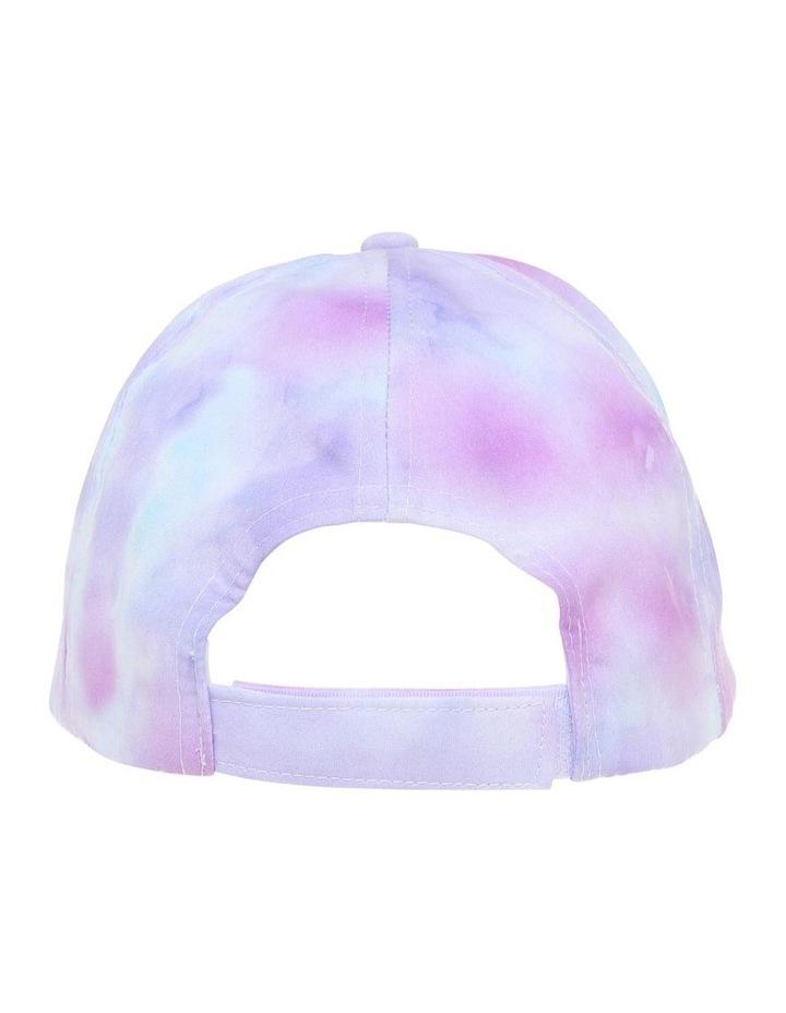 Rainbow Tie-Dye Cap image 3
