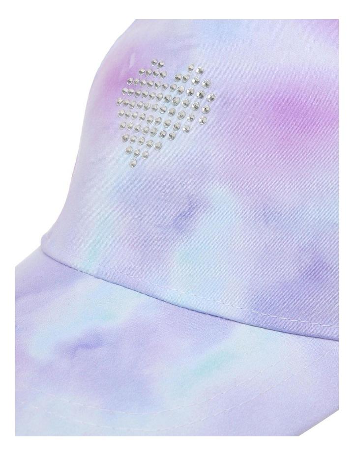 Rainbow Tie-Dye Cap image 4