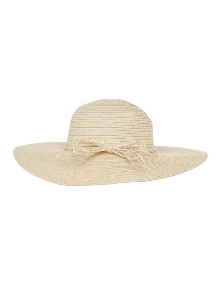 Wide Brim Straw Hat image 1