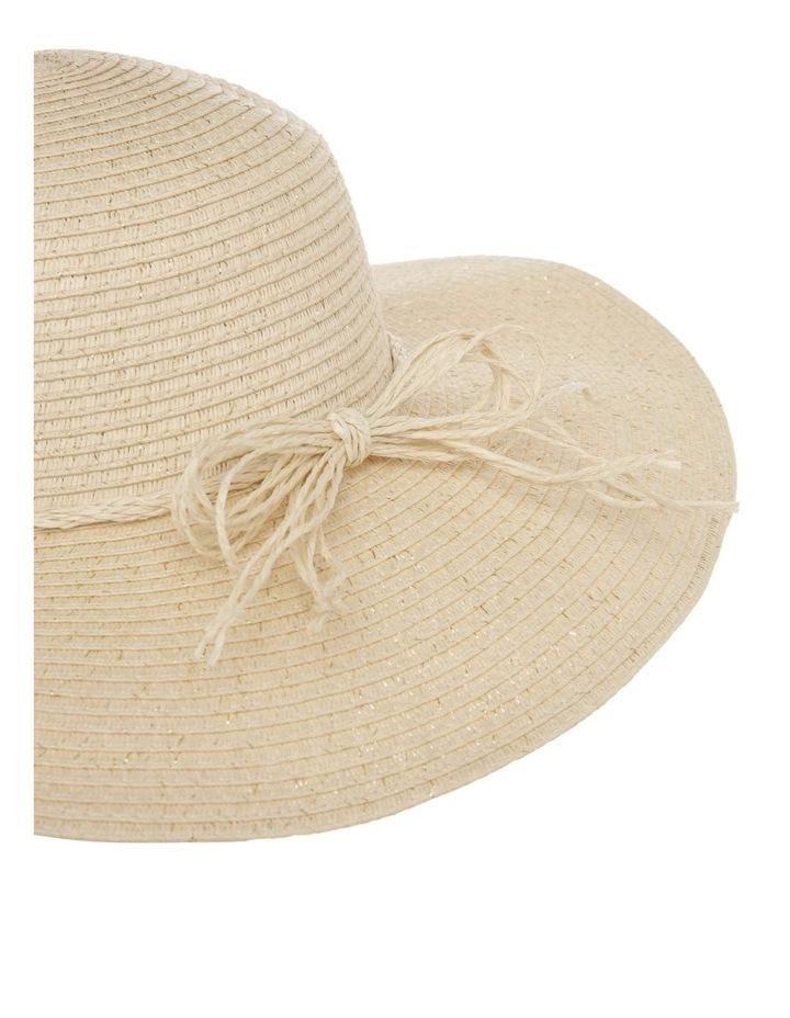 Wide Brim Straw Hat image 3