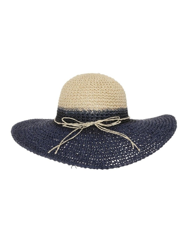 Ombre Straw Hat image 1