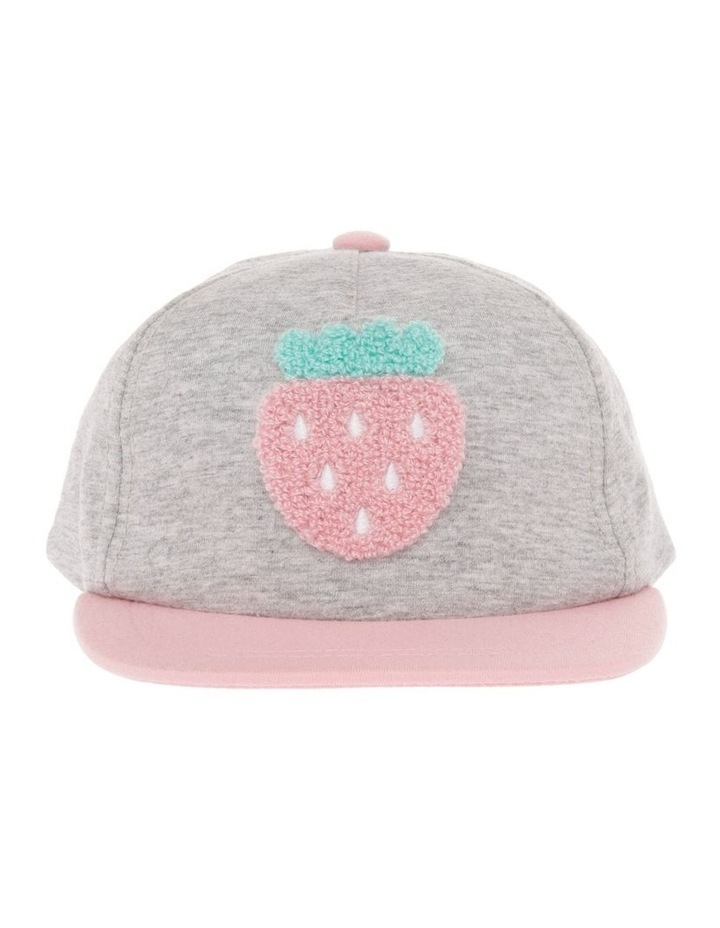 Strawberry Boucle Hat image 1