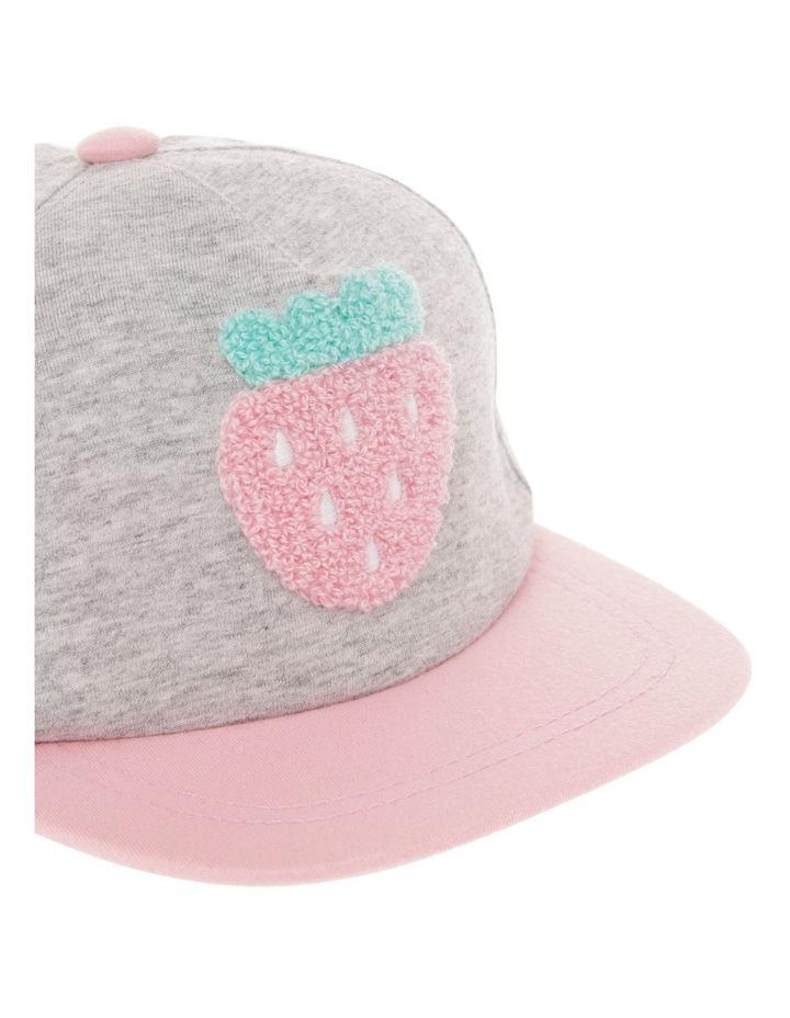 Strawberry Boucle Hat image 4