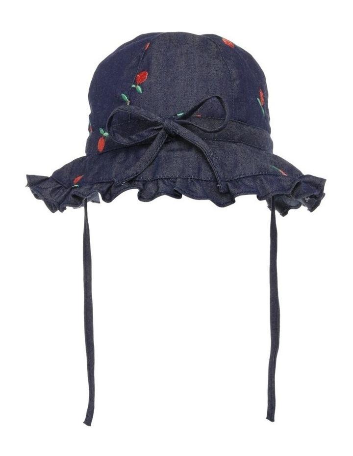 Denim Tiered Hat image 1