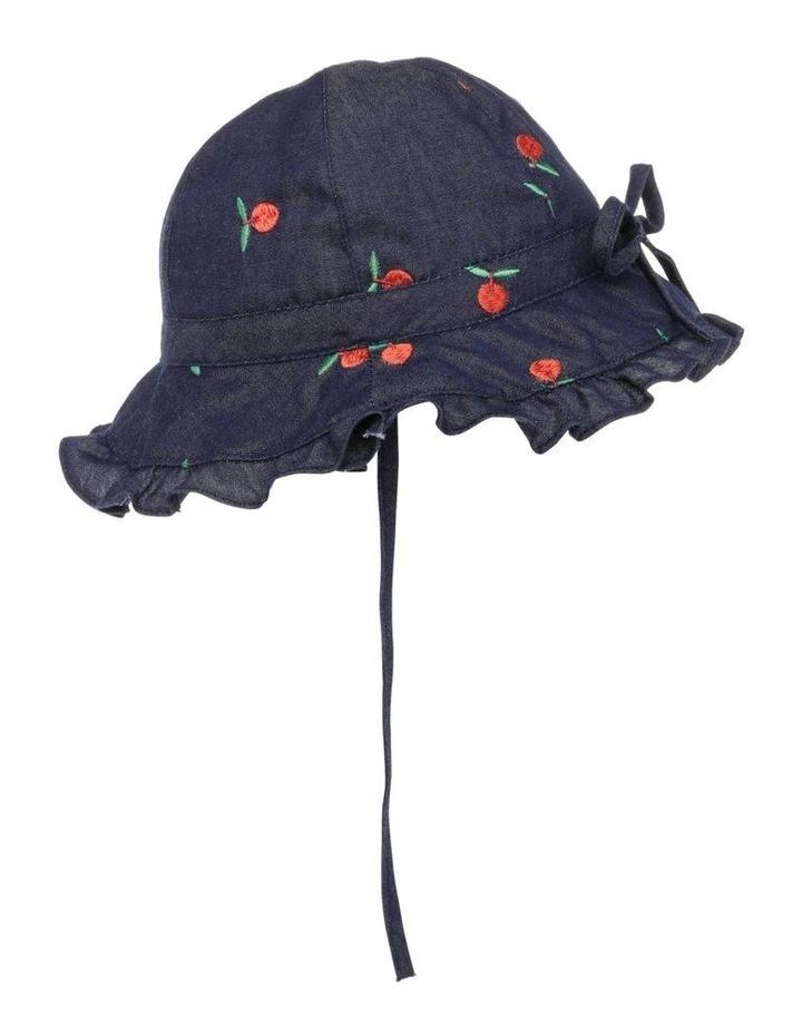 Denim Tiered Hat image 2