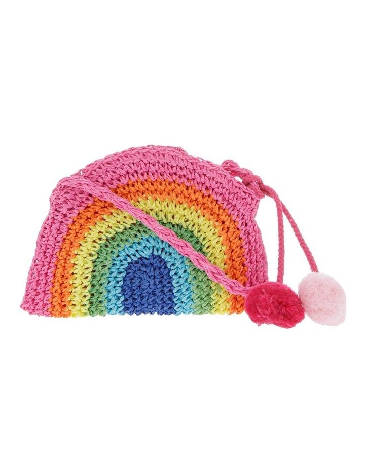Crochet Rainbow Shoulder Bag image 1