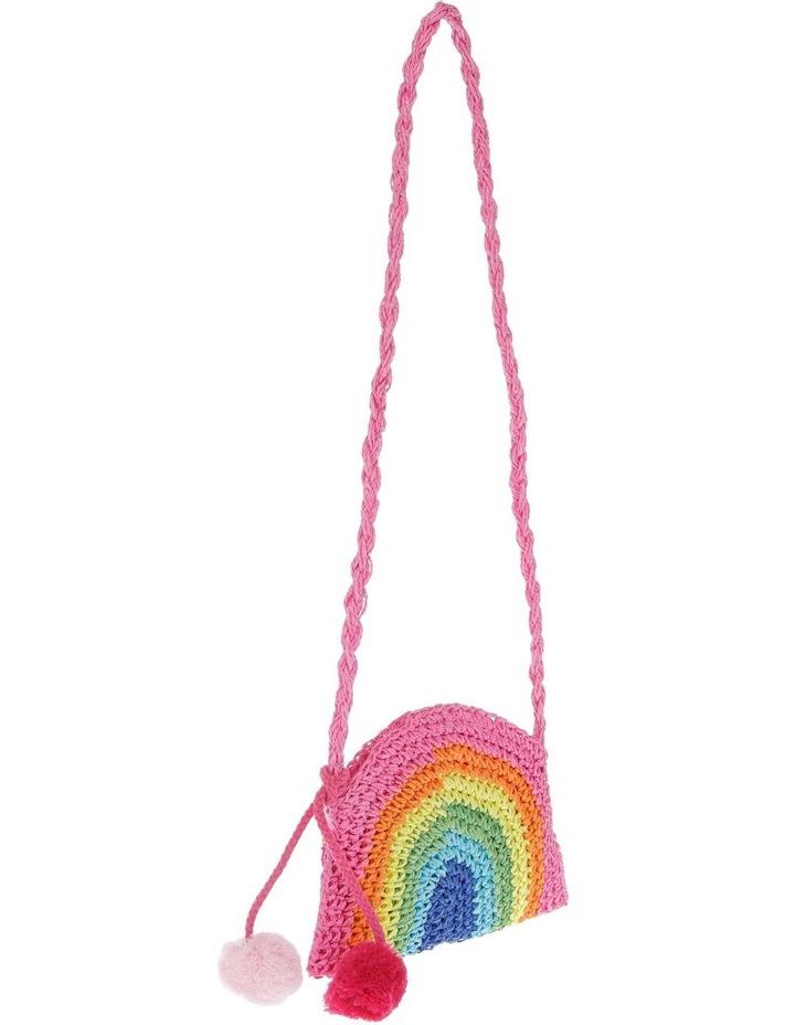 Crochet Rainbow Shoulder Bag image 2