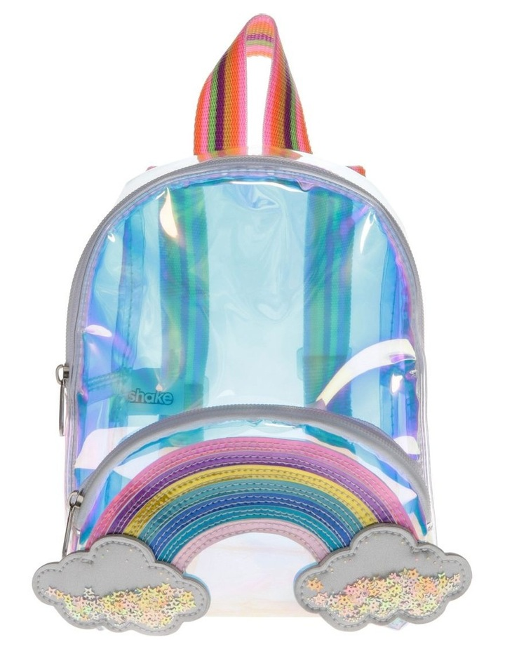 Iridescent Rainbow Mini Backpack image 1