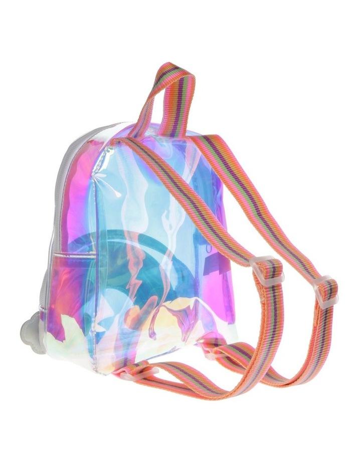 Iridescent Rainbow Mini Backpack image 2