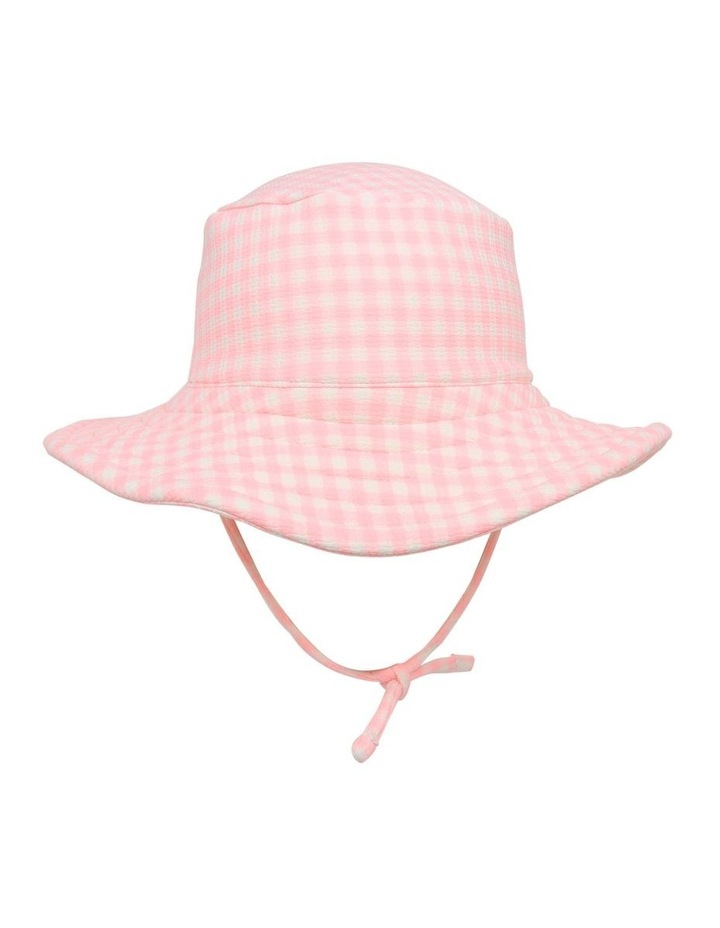 Gingham Swim Hat image 1