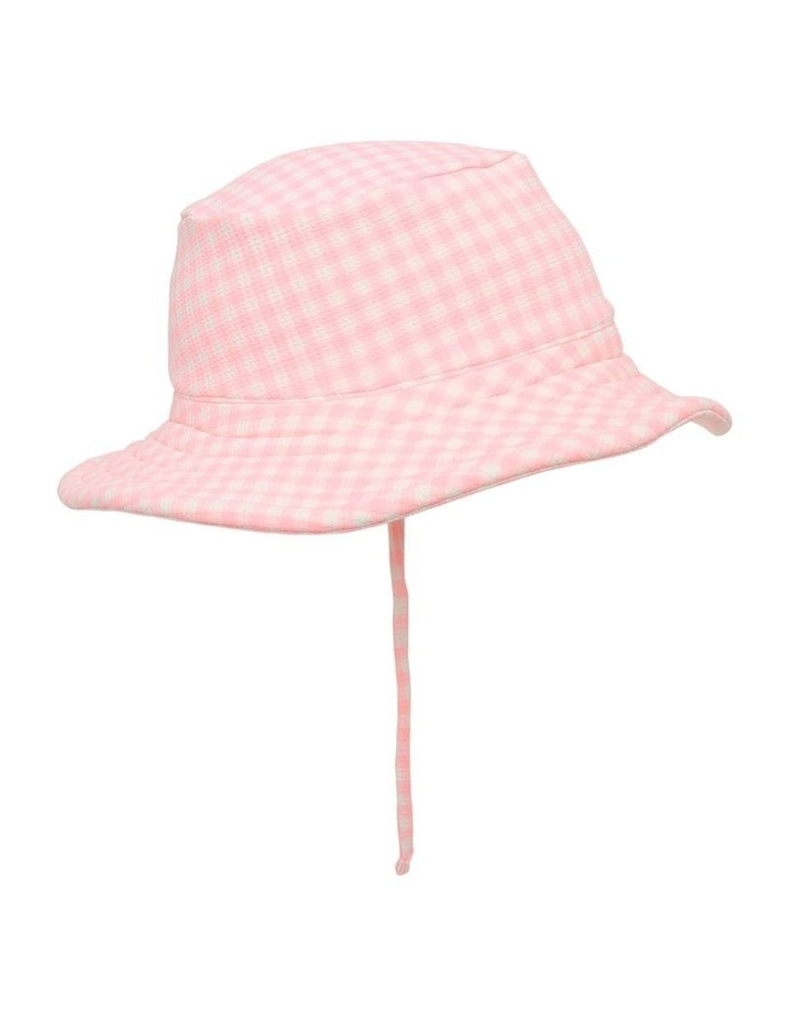 Gingham Swim Hat image 2