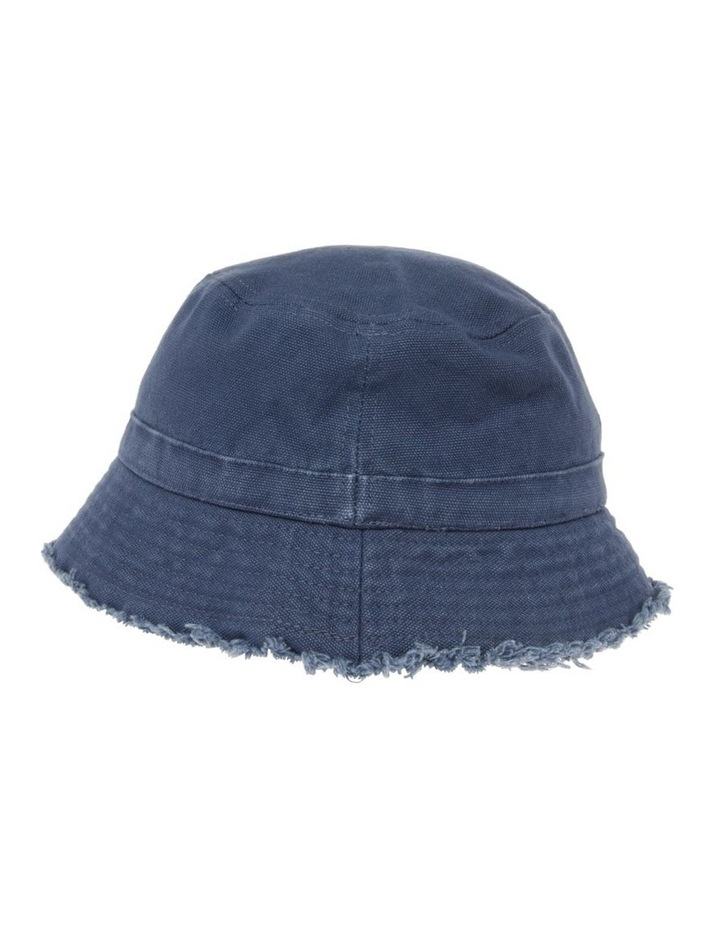 Canvas Raw Edge Bucket Hat image 2