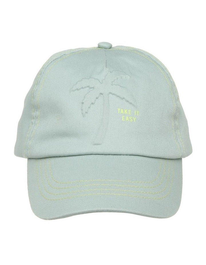 Embossed Palm Tree Cap image 1