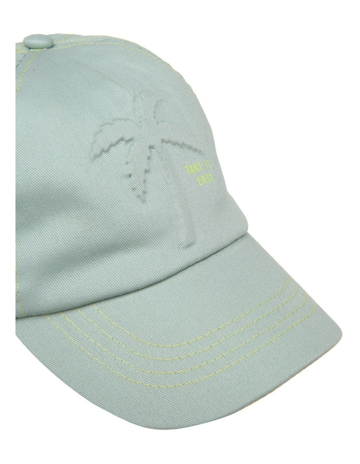 Embossed Palm Tree Cap image 4