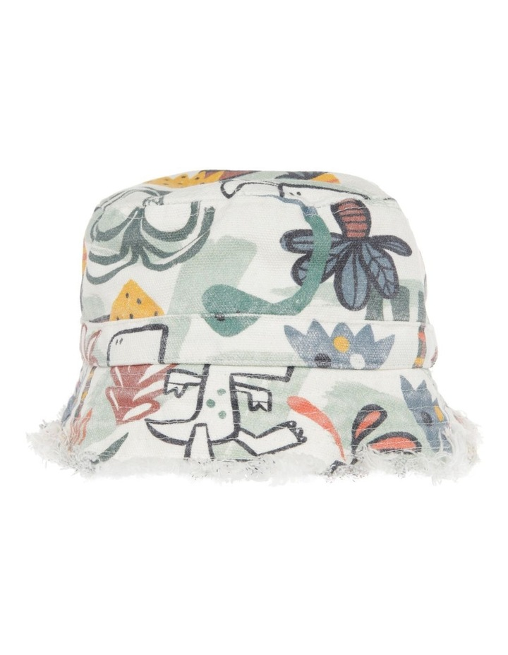 Jungle Print Canvas Bucket Hat image 1