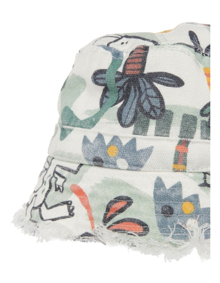 Jungle Print Canvas Bucket Hat image 3