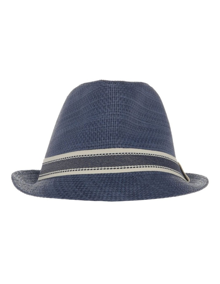 Navy Trilby Hat image 1