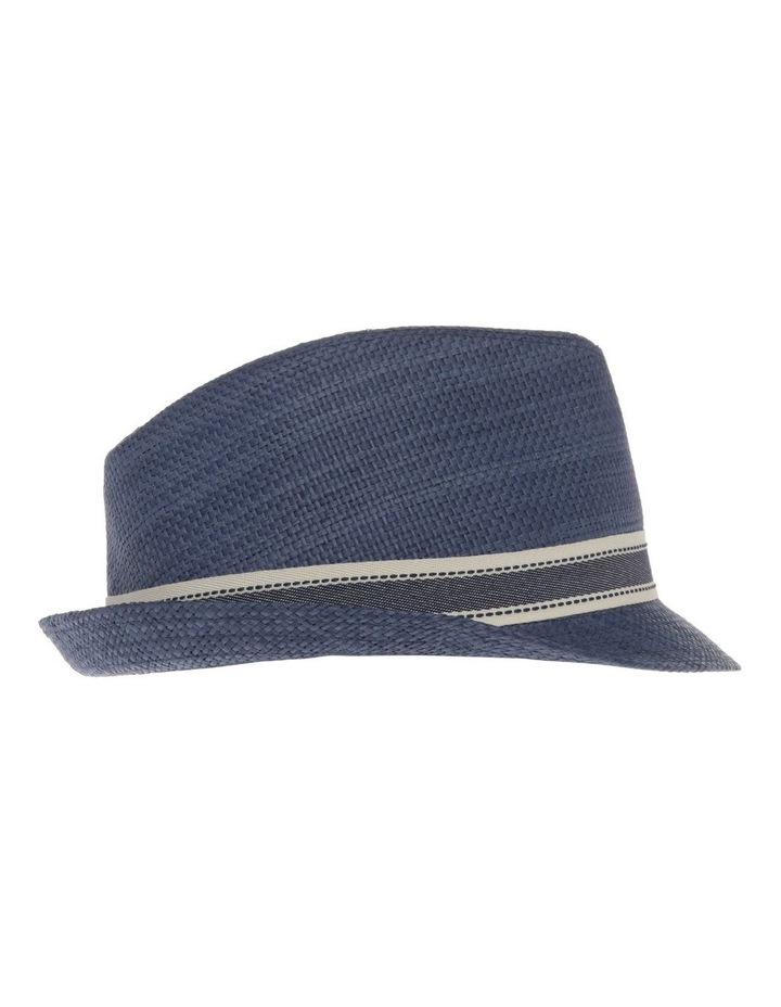 Navy Trilby Hat image 2