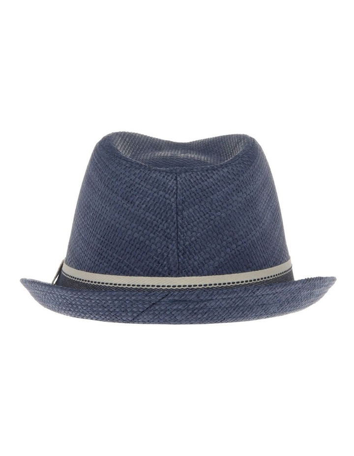 Navy Trilby Hat image 3