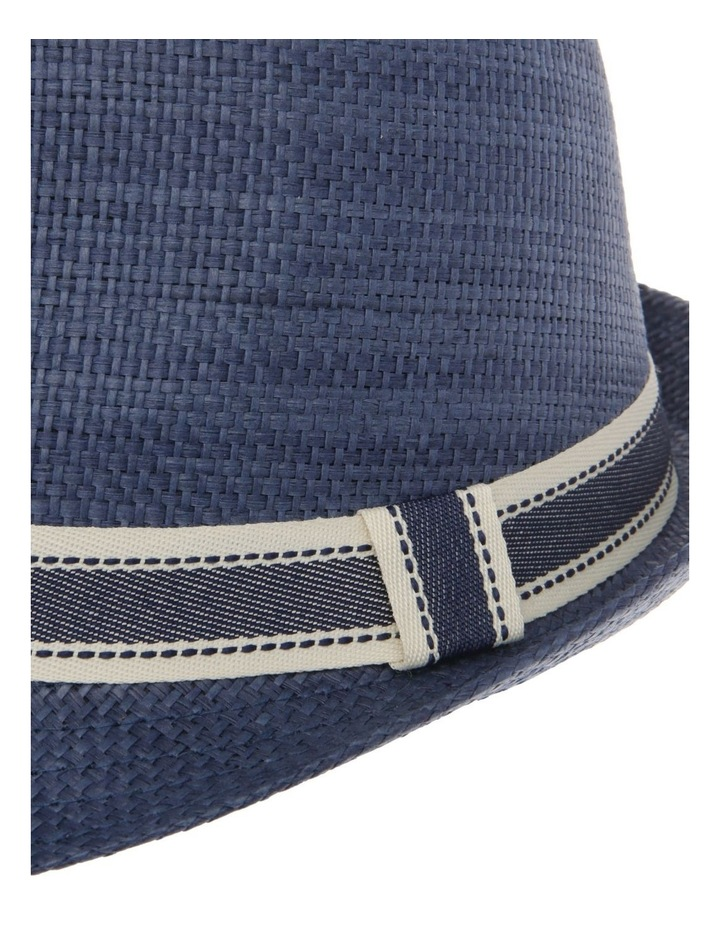 Navy Trilby Hat image 4
