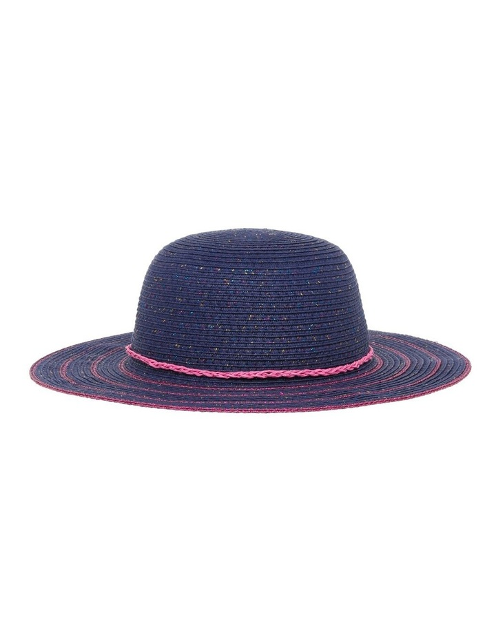 Lurex Wide Brim Hat image 1