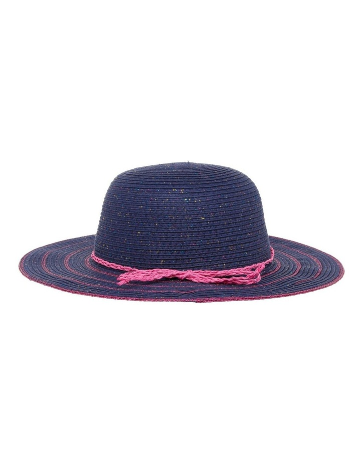 Lurex Wide Brim Hat image 3