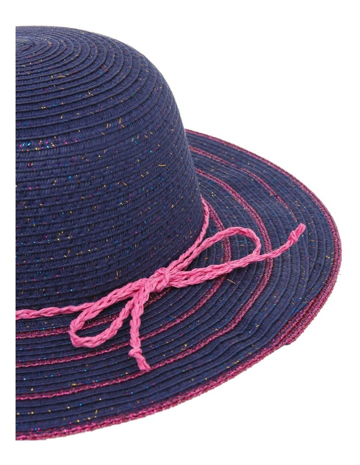 Lurex Wide Brim Hat image 4