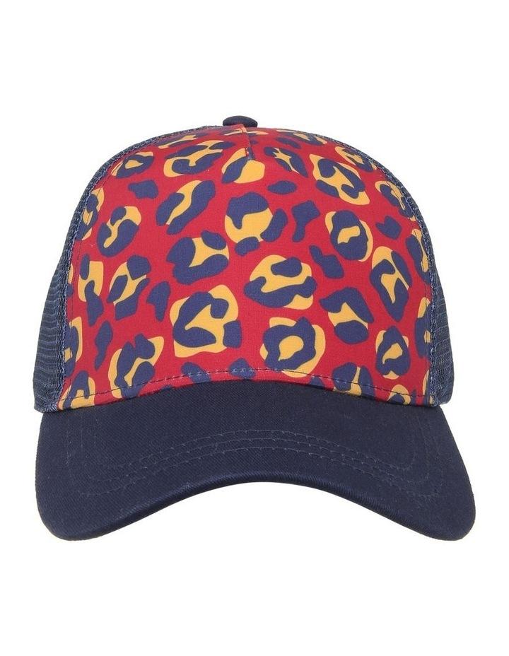 Leopard Colour Block Cap image 1