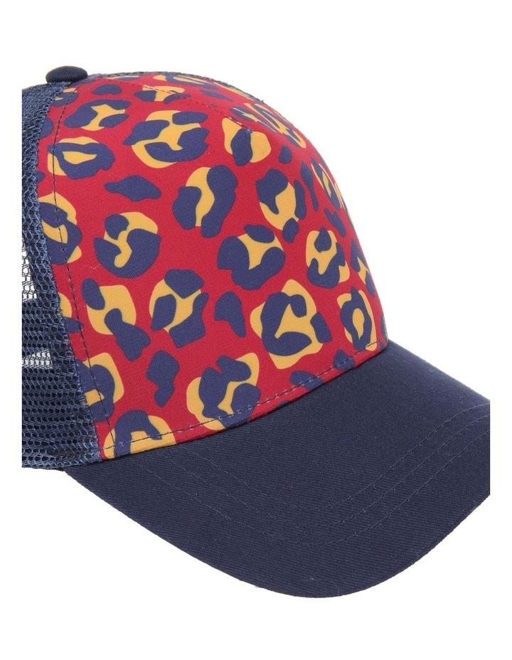 Leopard Colour Block Cap image 4