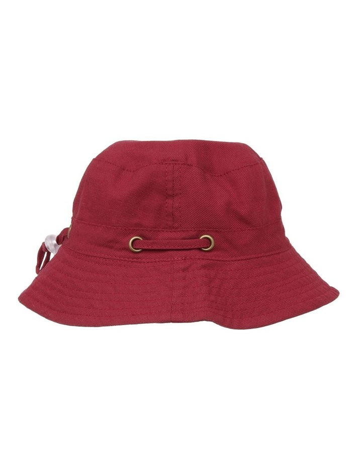 Mini Ripstop Hat with Toggles - Red image 2