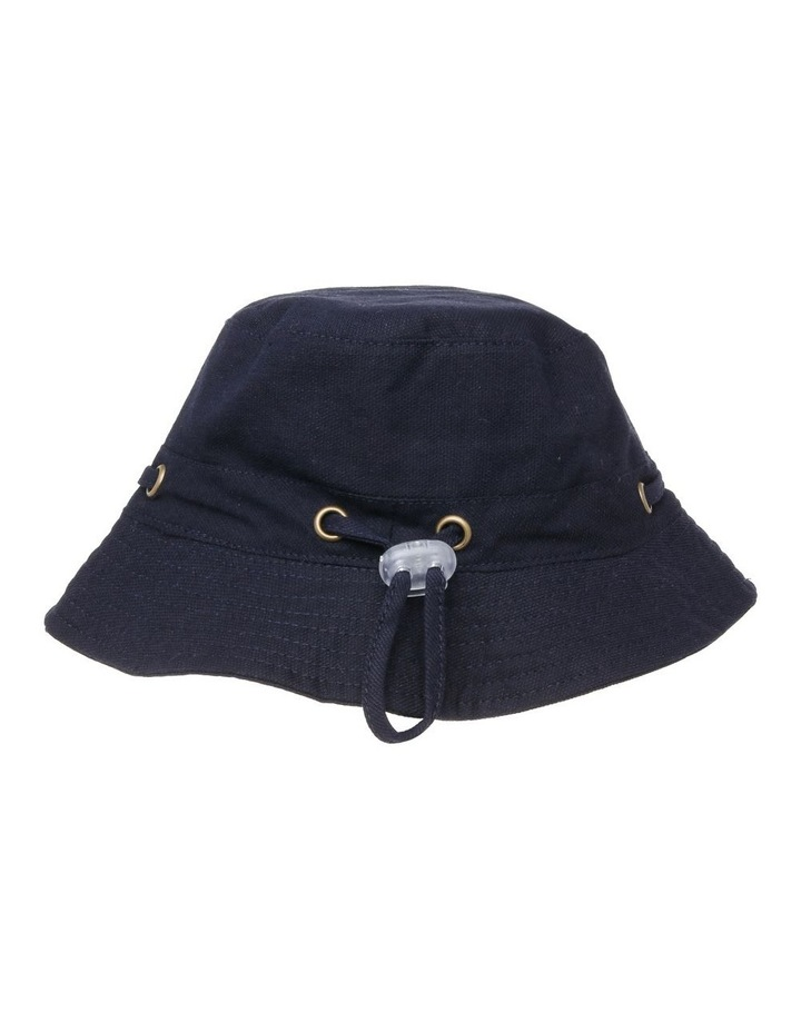 Mini Ripstop Hat with Toggles - Black image 3