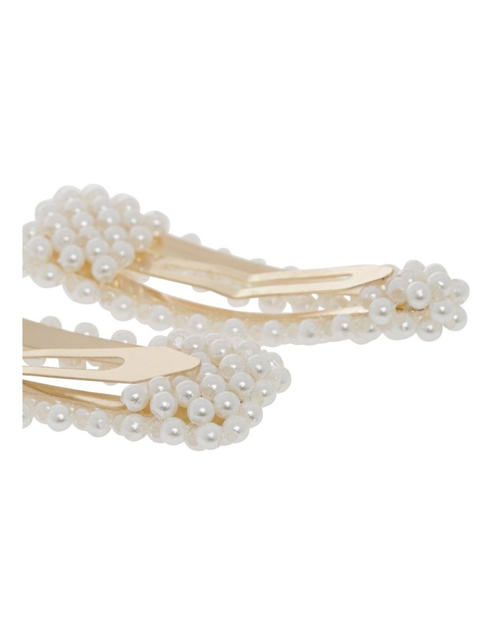 2 Pack Mini Pearl Snap Clips image 2