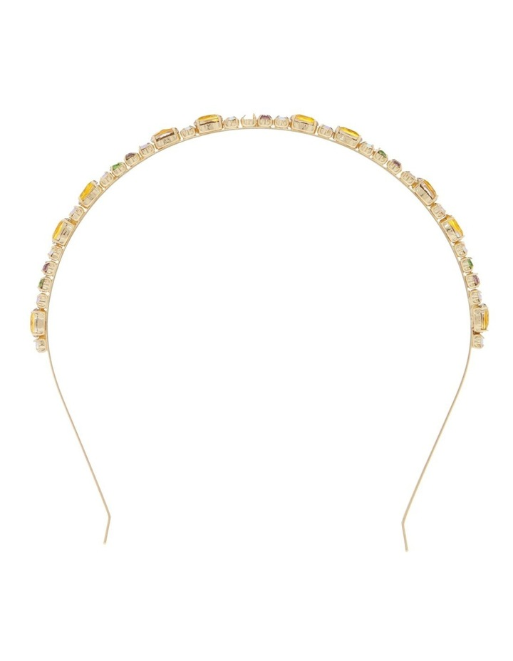 Gold & Green Jewel Headband image 1