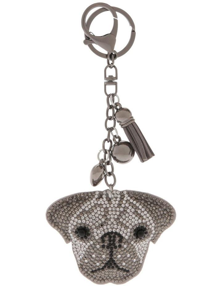 Bulldog Diamonte Keyring image 1