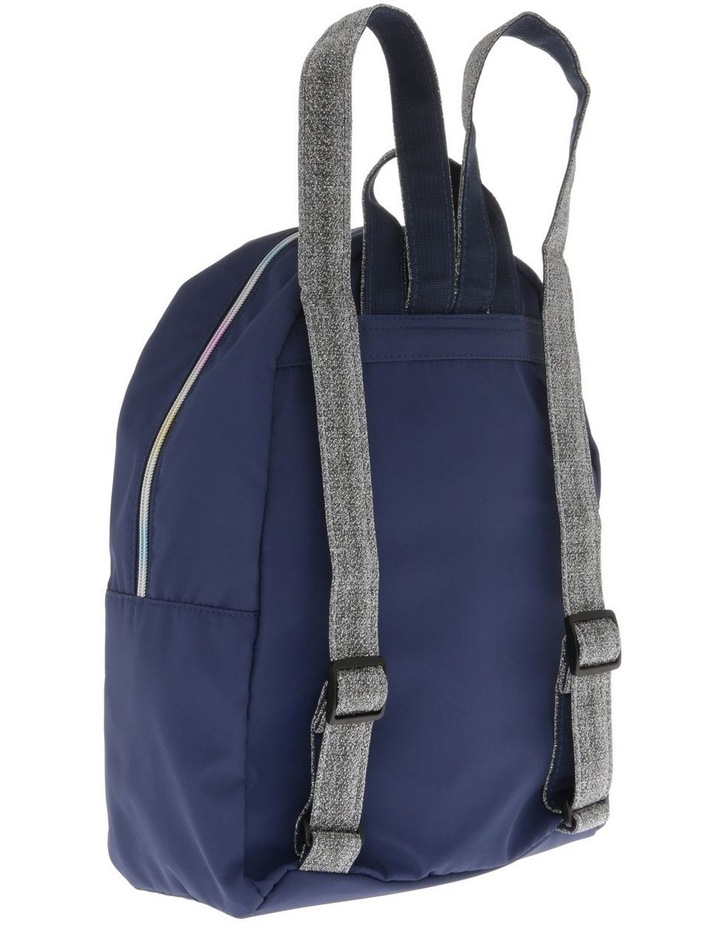 Girls Rainbow Navy Backpack image 2