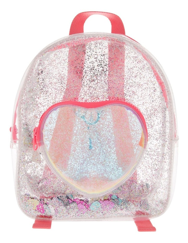 Transparent Pink Backpack image 1