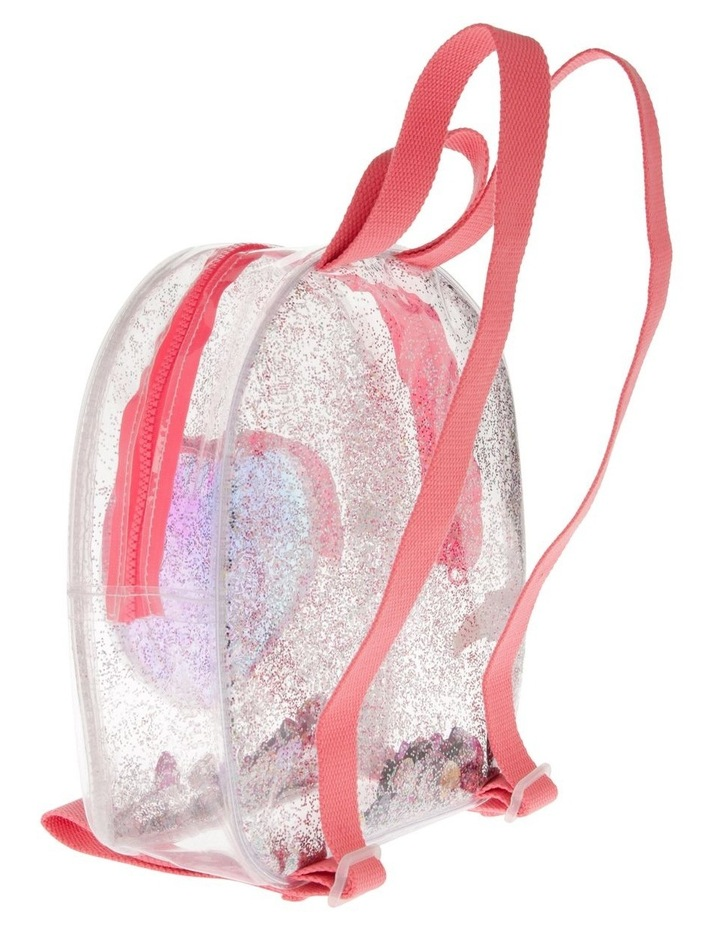 Transparent Pink Backpack image 2