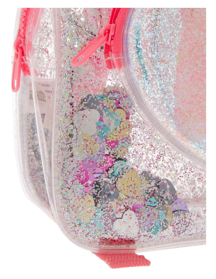 Transparent Pink Backpack image 3