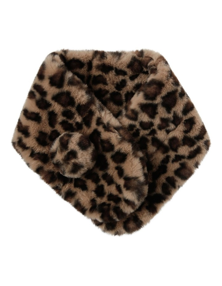 Leopard Printed Stole Scarf image 1