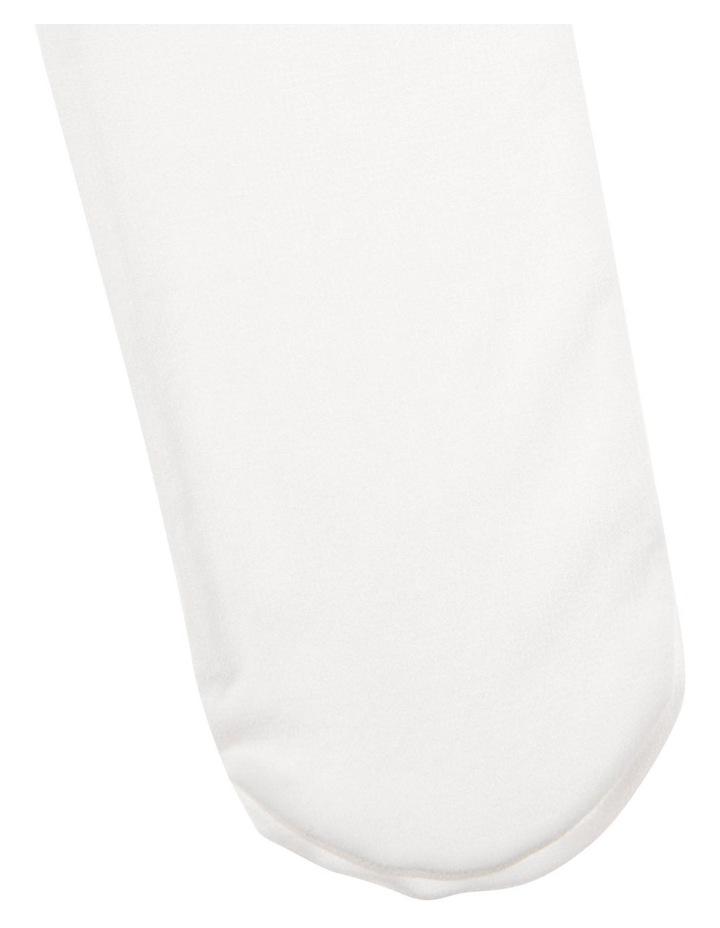 Junior Opaque Snowdrop Tights image 3
