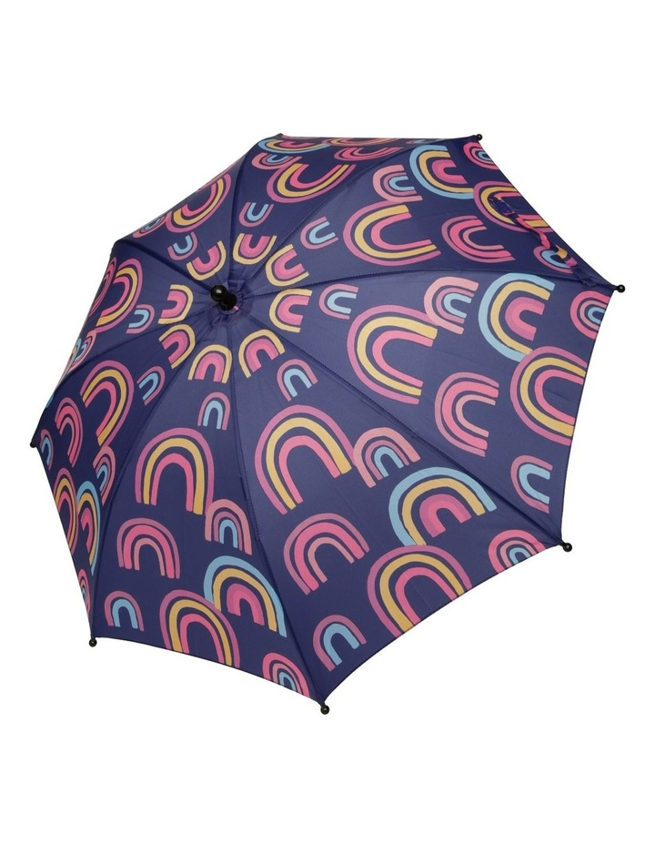 Girls Spicy Rainbow Umbrella image 2
