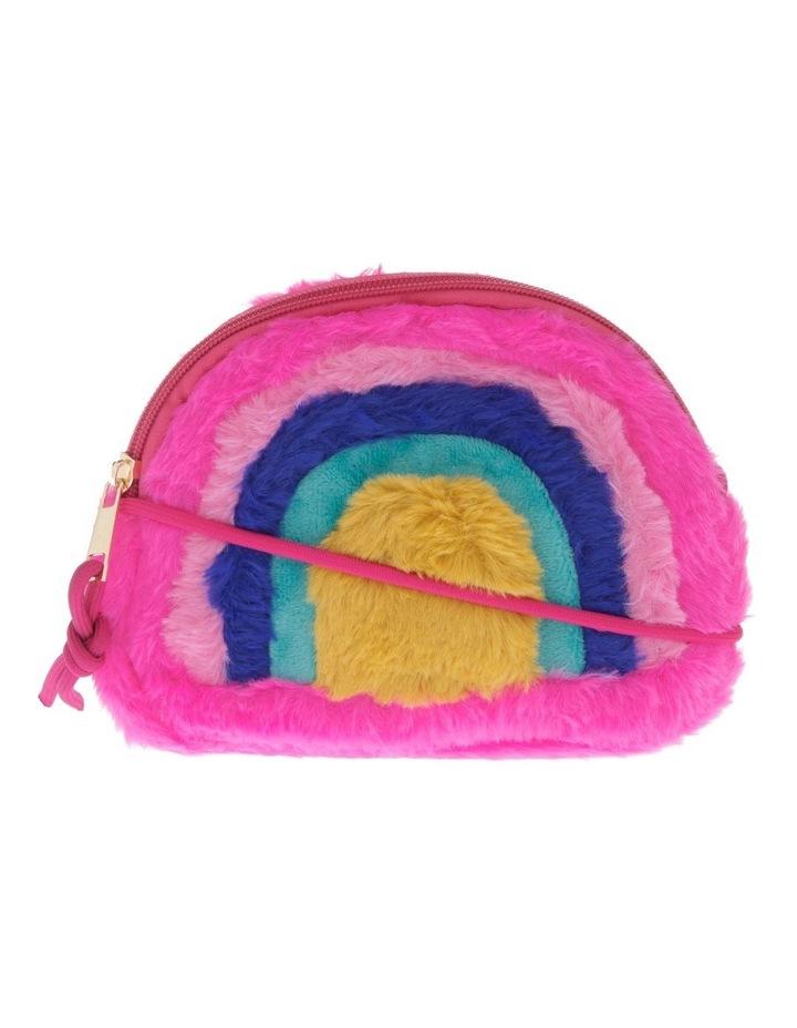 Fluffy Rainbow Shoulder Bag image 1