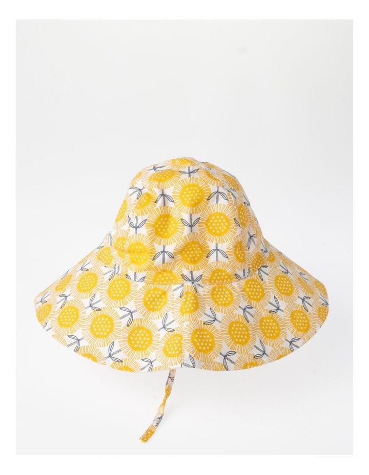 Mustard Floral Sunhat image 2