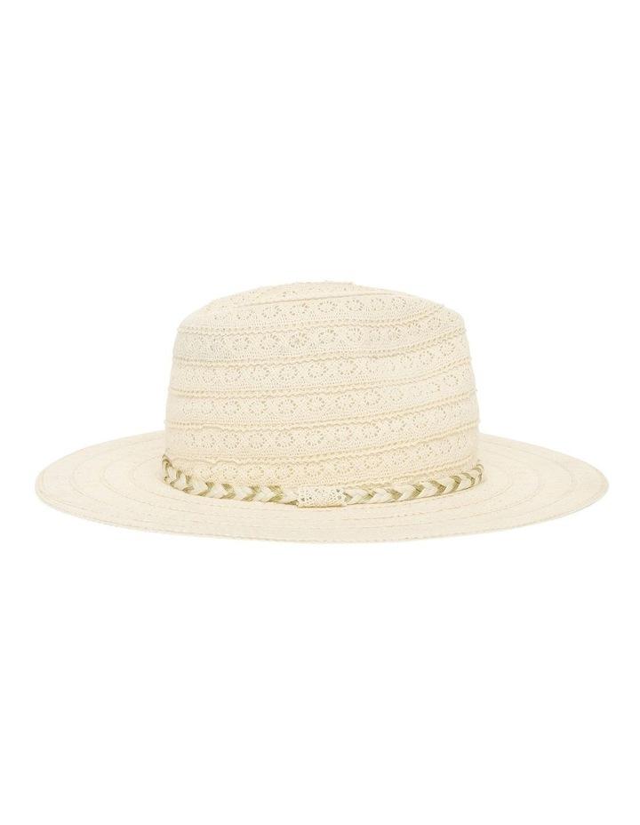 Cotton Lace Trim Hat image 2
