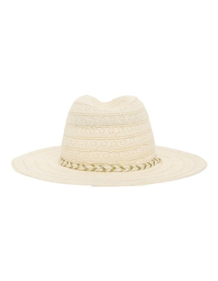 Cotton Lace Trim Hat image 3