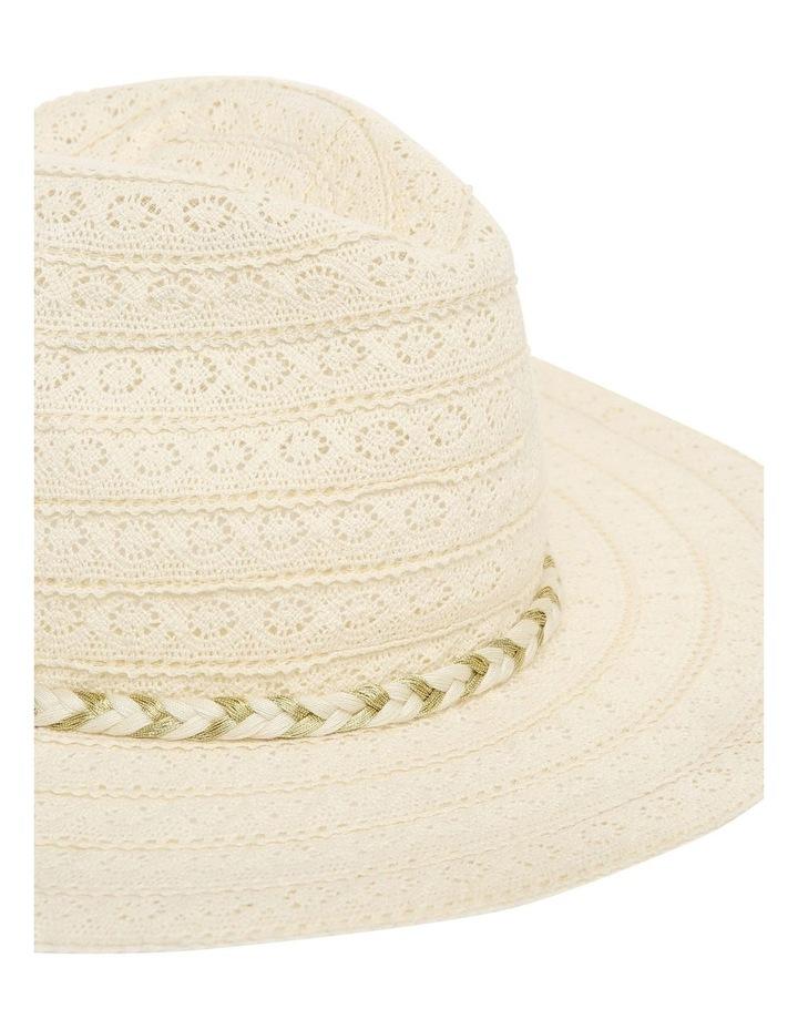 Cotton Lace Trim Hat image 4