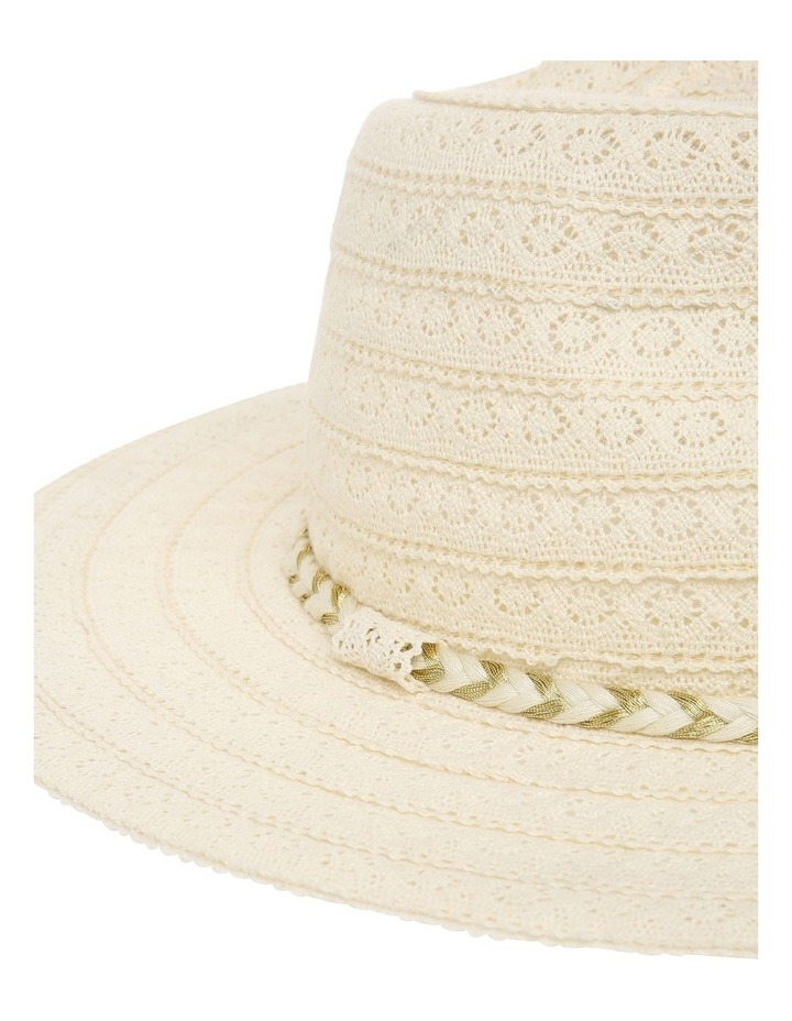 Cotton Lace Trim Hat image 5