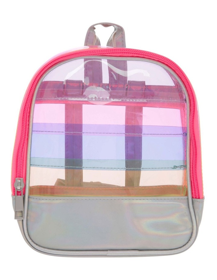 Panelled Rainbow Backpack image 1